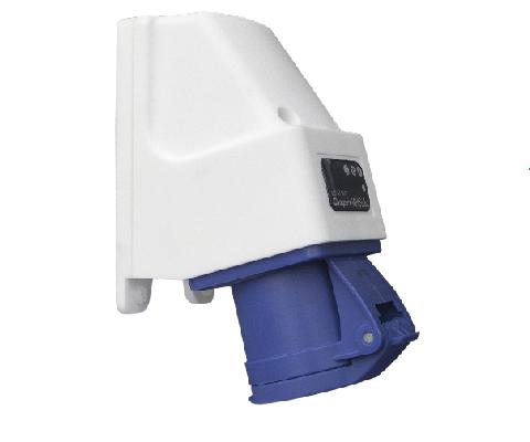 Draadloos stroom camping camping stopcontact stroomkast- CEE stopcontact plug