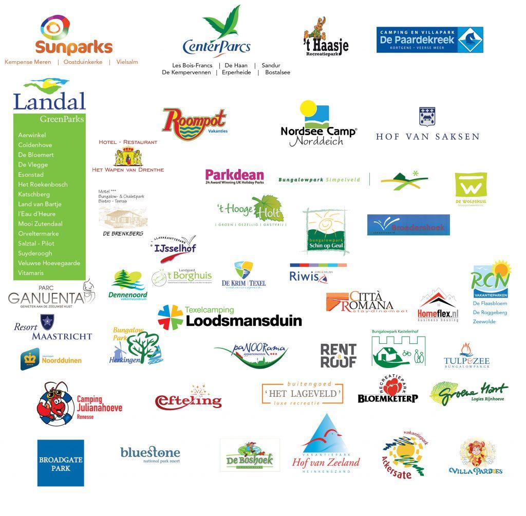 Referenties draadloos beheer en energiebesparing in vakantieparken