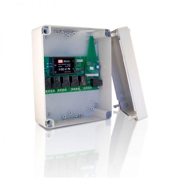 Switch Unit voor schakelen van groepen elektrische verwarming